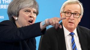 Thesesa May, negocieri cu liderii UE