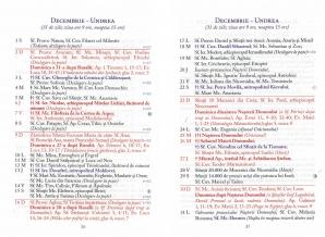 Calendar ortodox decembrie 2018