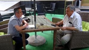 Dan Voinea, intervievat de jurnalistul Cristian Otopeanu