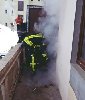 Sediu PSD, incendiat. Prima ipoteză a șocat: cine a pus focul / Foto: realitateadecluj.net