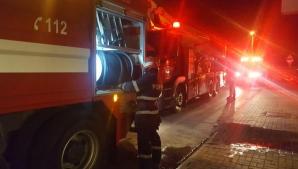 Incendiu bloc Constanta
