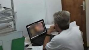 Inspectorul porno de la Finanţe, reîncadrat în muncă