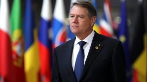Klaus Iohannis participă la reuniunea Consiliului European