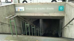Proteste Franța - stații de metrou închise