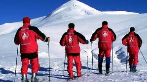 Risc major de producere de avalanșe în masivele Făgăraș și Bucegi