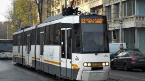 20 de tramvaie, BLOCATE pe Bd. Regina Maria, din Capitală