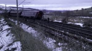 Accident feroviar grav în Hunedoara. Autoritățile au activat planul roșu de intervenție