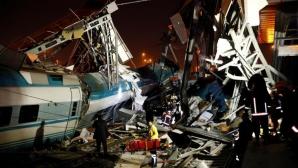 Accident de tren în Turcia