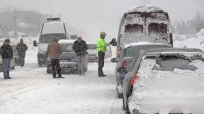 PROBLEME pe străzile din România. Trafic restricționat. RECOMANDĂRILE poliției