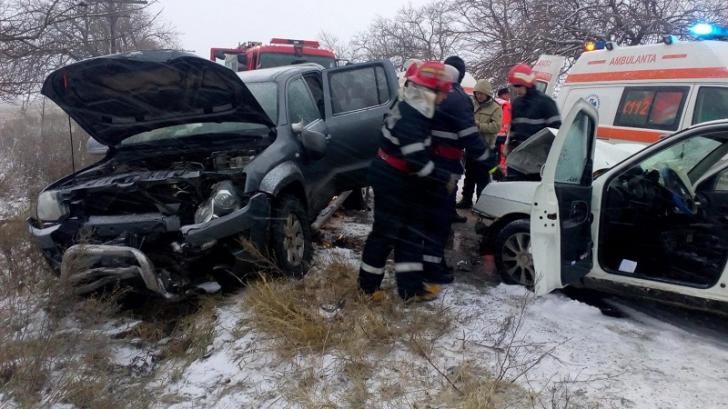 Primarul de Huşi implicat într-un accident rutier în apropiere de Bârlad