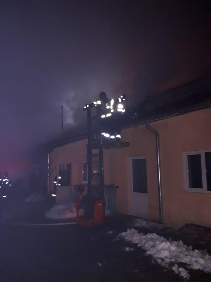 Incendiu laVințu de Jos