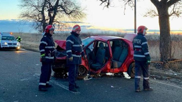 Accident cumplit în Teleorman: Doi tineri au murit