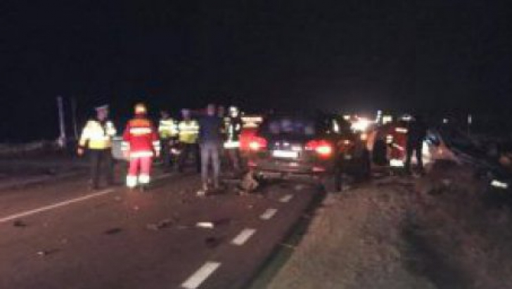 Accident rutier mortal, pe o șosea din Iași