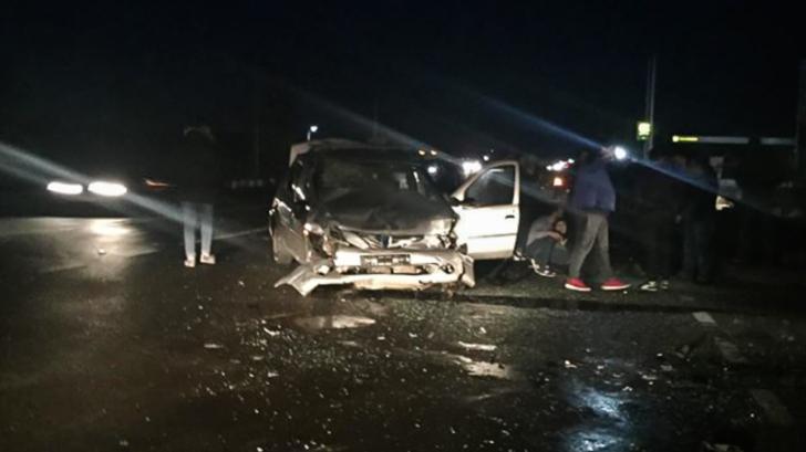 Accident grav pe DN 5, două persoane rănite