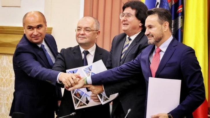 """Alianța Vestului. Emil Boc: """"Ne gândim la o reprezentanță directă la Bruxelles"""""""