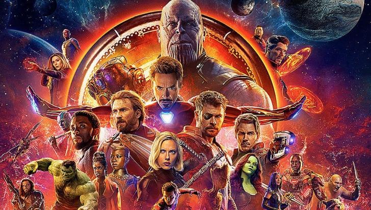 TOP 10 Cele mai de succes filme în 2018, dominat de supereroi