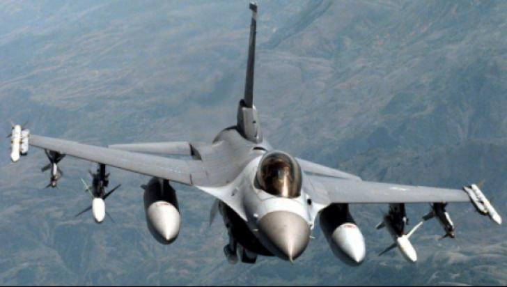 Avioanele F16 nu s-au ridicat de la sol, în Capitală