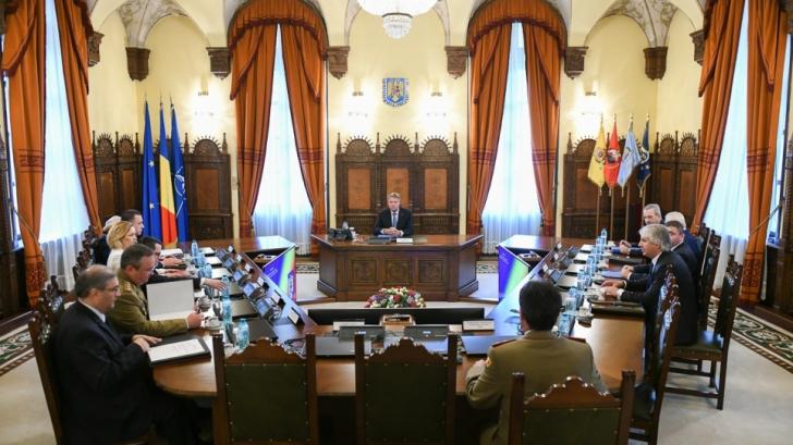 CSAT se reuneşte pe 11 decembrie. Ce se află pe ordinea de zi a şedinţei