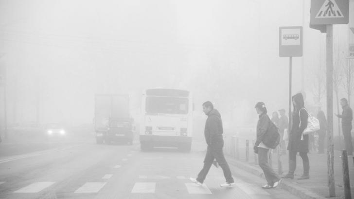 Alertă meteo. COD GALBEN de ceață în mai multe județe