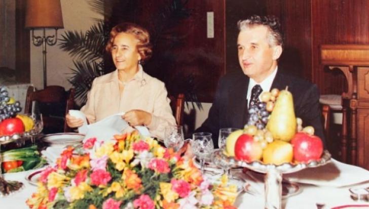 Ce mânca familia Ceauşescu de Crăciun