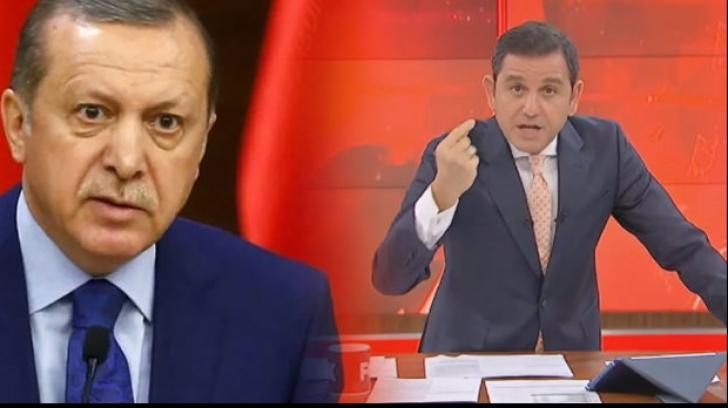 Fatih Portakal și Erdogan