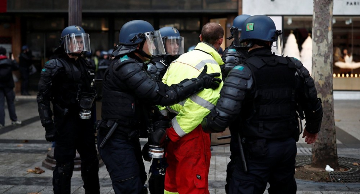 Lupte pe stradă la Toulouse
