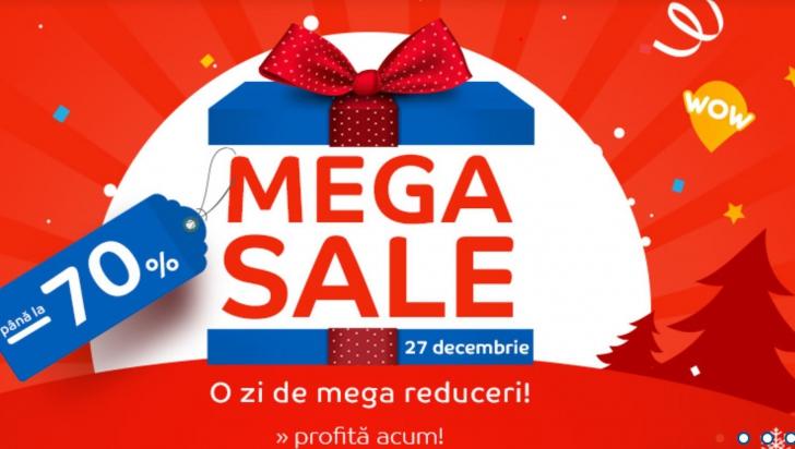 eMAG Mega Sale - Cea mai mare promotie din acest an, dupa Black Friday!