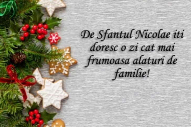<p>MESAJE de Sf Nicolae 2018 - Urari de Sf Nicolae - Felicitari de Sf Nicolae 2018 - La mulți ani de Sf Nicolae!</p>