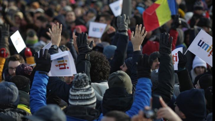 Protest la adresa jandarmilor