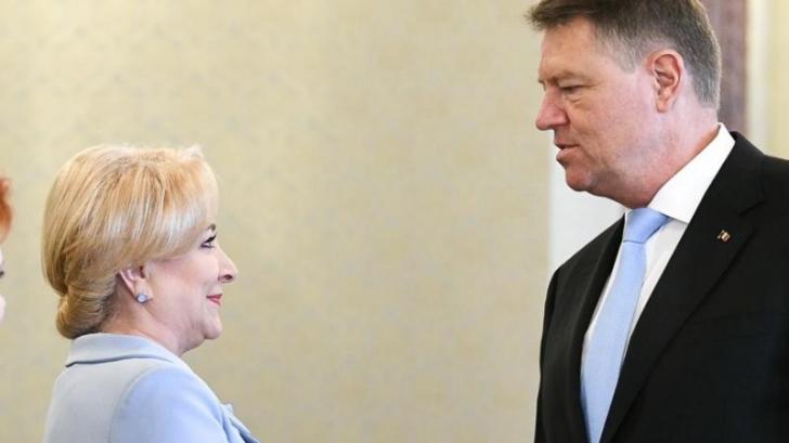 """Klaus Iohannis a """"înțepat-o"""" pe Viorica Dăncilă? A rostit cuvântul """"autiști"""""""