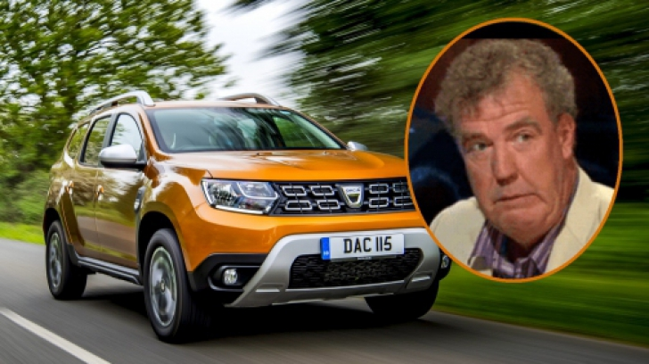 Jeremy Clarkson, atac dur la Dacia Duster. Celebrul jurnalist desființează mașina românească