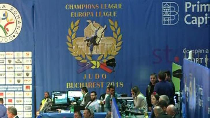Bucureşti, capitala judo-ului. 11 echipe se întrec în Europa Leagu. Astăzi, competiţia masculină
