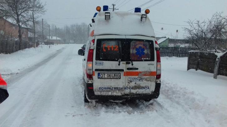 Ambulanţă blocată