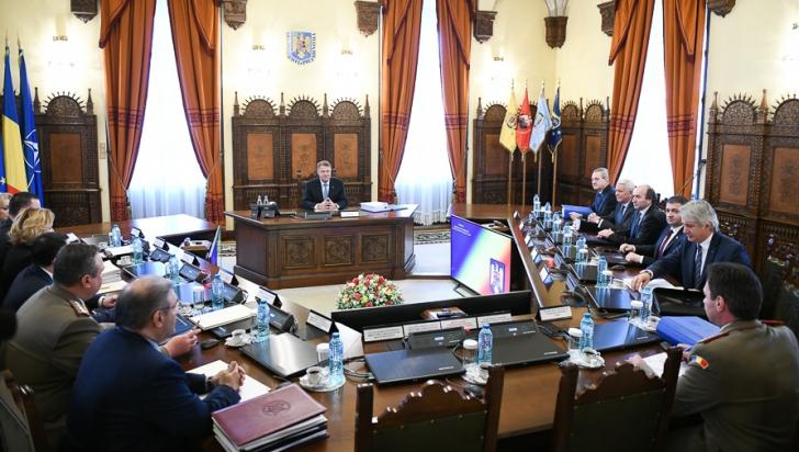 CSAT reia discuţiile cu privire la bugetul instituţiilor din domeniul securităţii naţionale