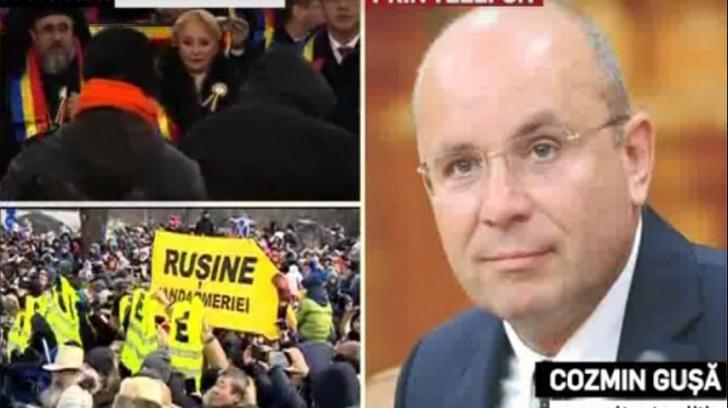 """Cozmin Gușă le-a urat """"La mulți ani!"""" telespectatorilor Realitatea TV și le-a mulțumit jurnaliștilor pentru efortul depus"""