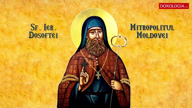 Sarbatoare 13 decembrie - Sfantul Ierarh Dosoftei