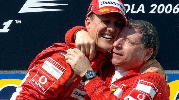 Michael Schumacher: veste mare de la Jean Todt despre fostul pilot de Formula 1
