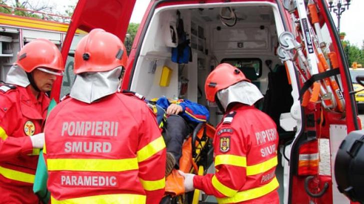 Accident grav în Gorj: Cel puţin opt răniţi, printre care trei copii şi o gravidă