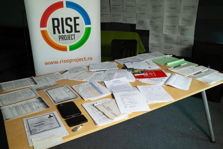 Poliţia Teleorman cere Rise Project să spună cine le-a dat valiza. Şeful Tel Drum, plângere penală