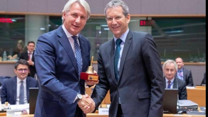 Eugen Teodorovici a preluat președenția ECOFIN pentru următoarele 6 luni