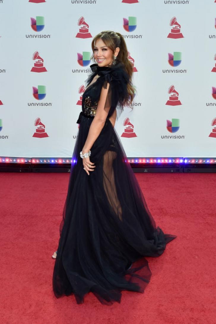 Thalia, apariție sexy la 47 de ani FOTO