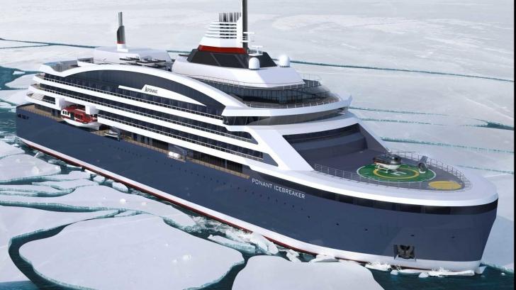 Nava polara construită în România