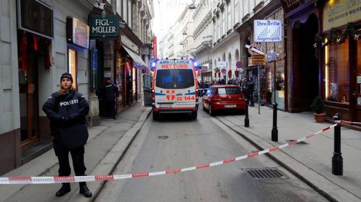 ALERTĂ la Viena. Un bărbat a deschis focul într-un restaurant. Cel puțin o persoană a murit