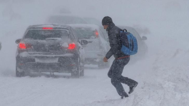INFORMARE meteo de ninsori, viscol şi polei în întreaga ţară! Cât va dura URGIA