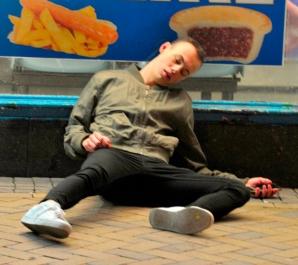 Scene hilare pe străzile din UK