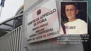 Vaslui: Tânărul care a ucis un italian în timpul unui joc erotic, își va ispăși pedeapsa în România