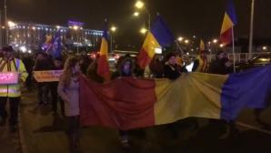 Peste 500 de sibieni au protestat împotriva guvernării și a legilor justiției