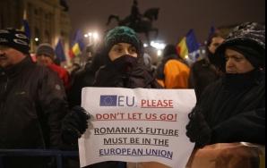 Protest anti-PSD și pro-Europa