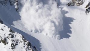 Cod roșu de avalanșă la munte