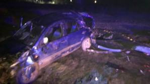 Tragedie în Constanţa: Șofer mort după ce a intrat cu mașina într-un copac